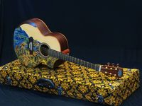 Kerajinan UMKM Unik: Talenan 'Pusaka' dan Gitar Batik dari Sukoharjo