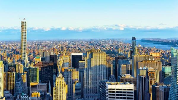 Selain patung Liberty, para orang terpiliih akan juga diberi kesempatan mengunjungi gedung tertinggi di New York, One World Observatory. (iStock)