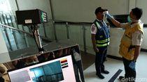 Simulasi Pencegahan Corona di Pelabuhan Tanjung Priok