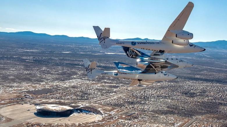Pesawat Luar Angkasa Virgin Galactic