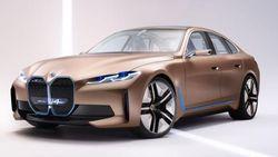 Cantiknya Mobil Listrik Konsep BMW i4