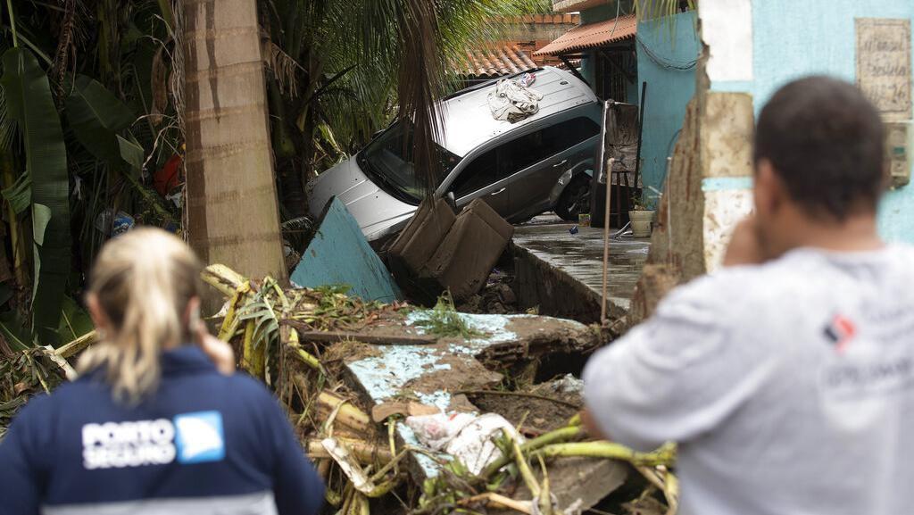 4 Orang Tewas Imbas Banjir Bandang Menerjang Brasil