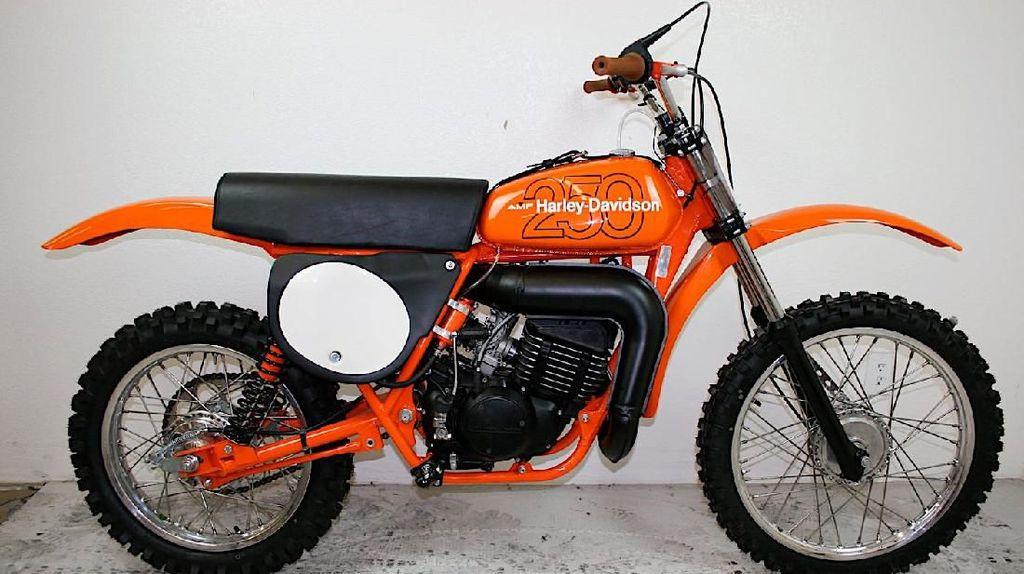 Saat Harley-Davidson Pakai Baju Motorcross