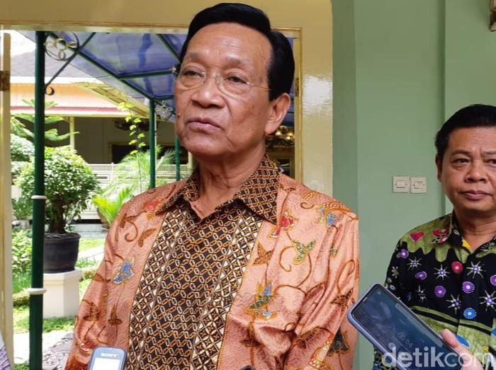 Gubernur DIY Sri Sultan Hamengku Buwono (HB) X di Kepatihan, Selasa (3/3/2020).