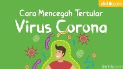Virus corona menular lewat droplet atau bercak dahak. Kenali cara-cara mencegah penularannya.