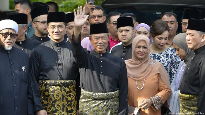 Muhyiddin Yassin, Perdana Menteri Baru Malaysia