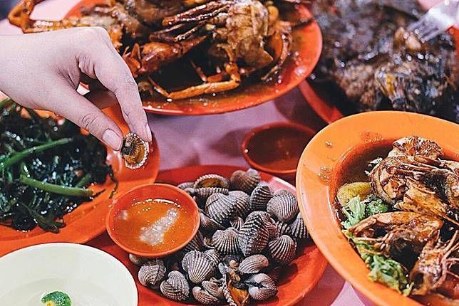 seafood tenda