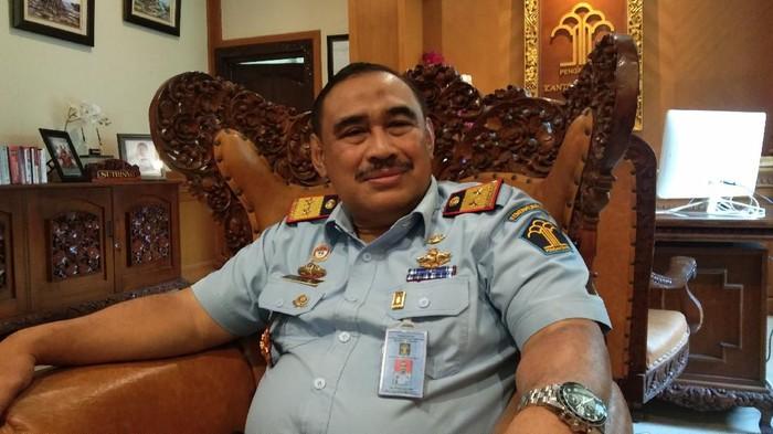 Kepala Kantor Kementerian Hukum dan HAM Bali, Sutrisno. (Foto: Angga Riza/detikcom)