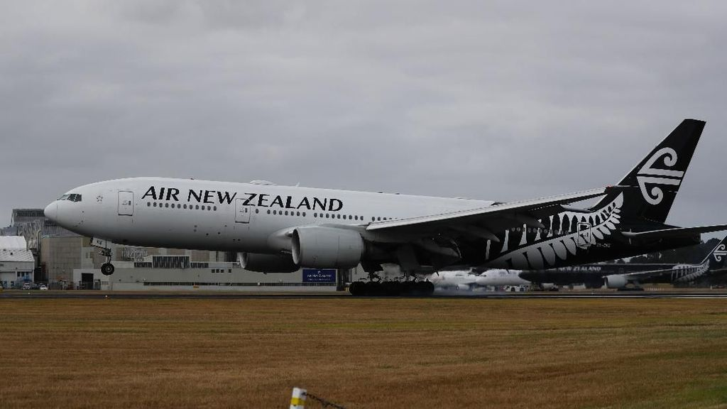 Alami Masalah Hidrolik, Pesawat di Selandia Baru Balik Badan