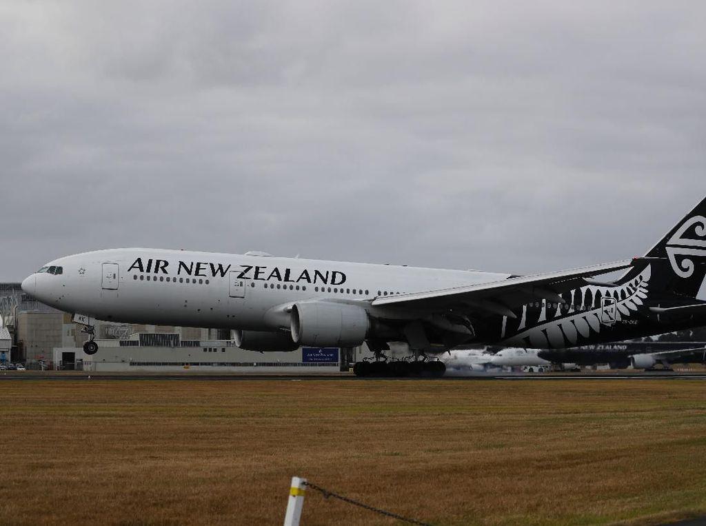 Penumpang Mabuk Bikin Pesawat Selandia Baru Putar Balik