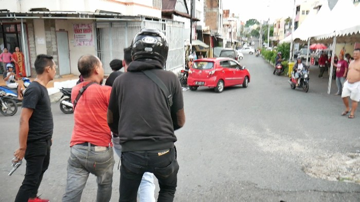Asrianto ditangkap polisi usai mencuri barang teman kencan sesama jenisnya (dok. Istimewa)