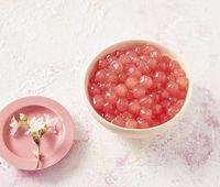 Cantik! Ini Boba Pink dari Bunga Sakura yang Manis Kenyal
