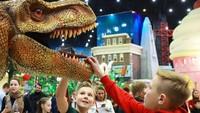 Menurut situs resminya, nantinya taman rekreasi itu akan dibagi ke sembilan tema berbeda. Kalau yang ini ada di zona dinosaurus. (dream_island_park/Instagram)