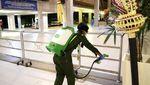 Bandara Disterilkan dari Virus Corona