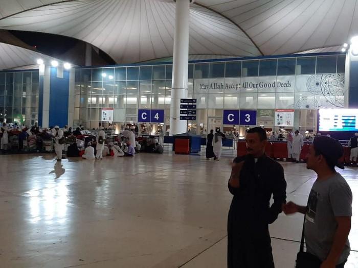 Situasi di Bandara Arab Saudi, Senin (2/3/2020).