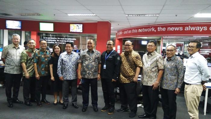 Direksi Bank Mandiri dan detik Network