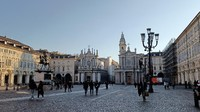 Dari situ, traveler bisa menuju alun-alun kedua yaitu Piazza San Carlo. Alun-alun ini spesial untuk para Juventini, penggemar klub Juventus. (dok Oppo)