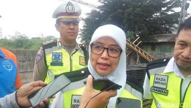 Tim Samsat Jakbar Razia Gabungan, Bisa Bayar Pajak di Tempat
