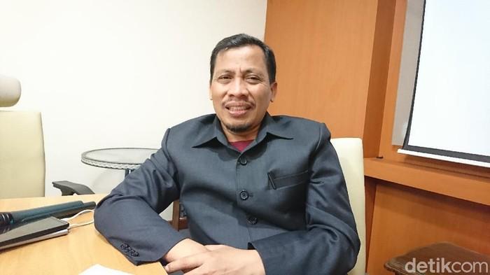 Ketua F-PKS DPRD Sumut Misno Adisyah Putra (Ahmad Arfah Fansuri/detikcom)
