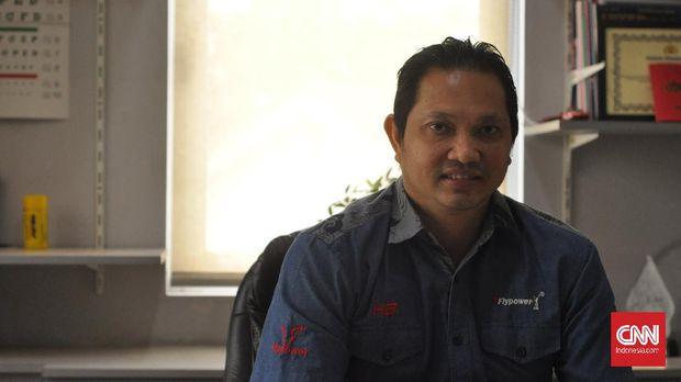 Hariyanto Arbi terinspirasi kakak untuk menjadi atlet badminton.