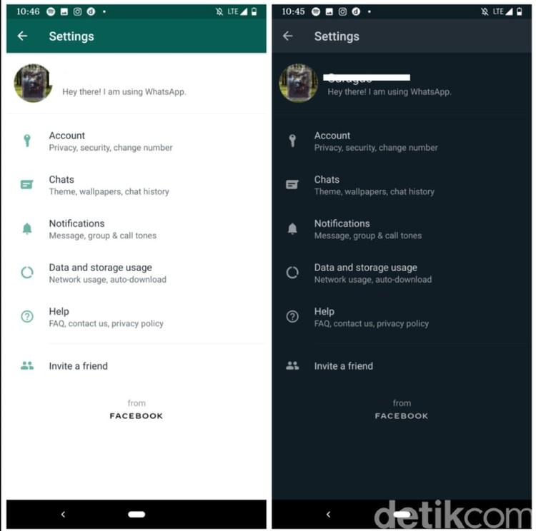 WhatsApp resmi meluncurkan dark mode kepada para pengguna setianya, termasuk di Indonesia.