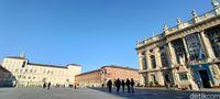 Mencari Ronaldo di Kota Tua Turin