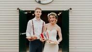 Unik! 5 Pasangan Ini Pilih Menikah dengan Konsep Fast Food
