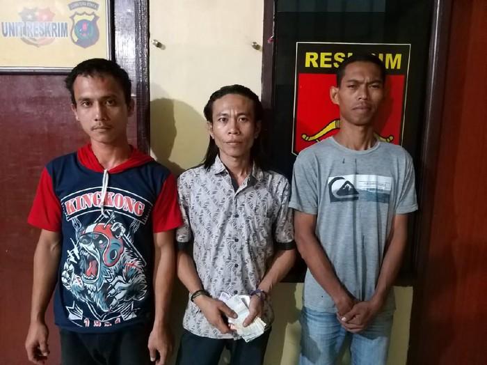 Tiga pelaku pungli di Deli Serdang ditangkap (dok. Istimewa)