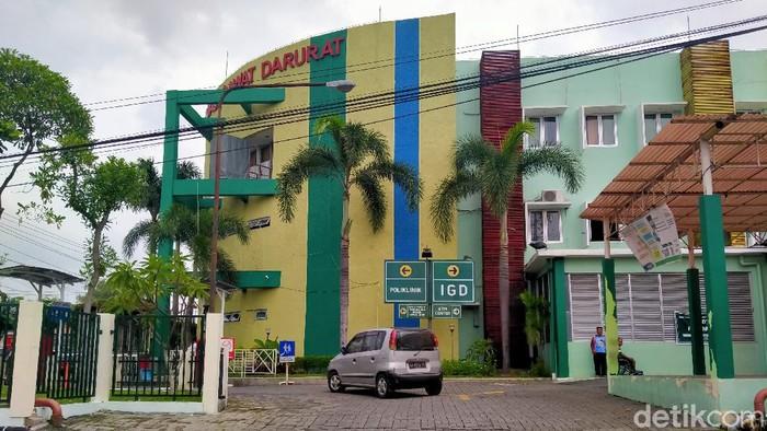 Gedung UGD lama RSUP Dr Soeradji Tirtonegoro disiapkan untuk menangani kasus Corona