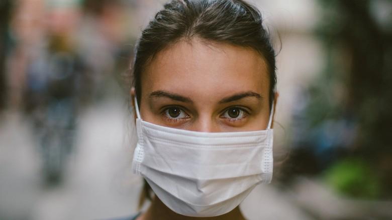 Virus corona: Apakah mengenakan masker bisa mencegah kita tertular virus?