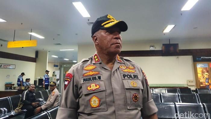 Kapolda Papua Irjen Paulus Waterpauw (Isal Mawardi/detikcom)