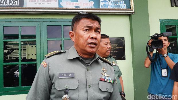 TNI AD Naikkan Pangkat Serka Iskandar yang Gugur saat Halau Gajah Ngamuk