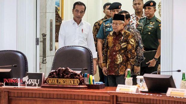 Jokowi menargetkan angka kemiskinan ekstrem hilang di tahun 2024.