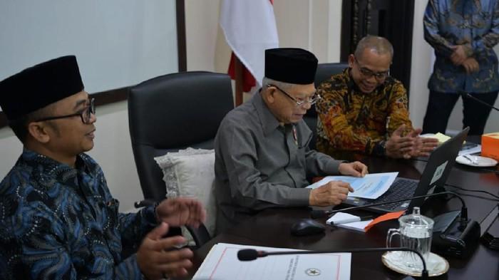 Maruf Amin saat Laporan Pajak