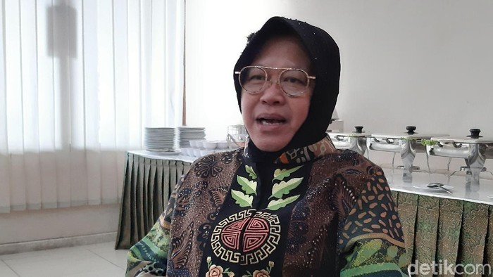 Wali Kota Surabaya Tri Rismaharini di Solo, Rabu (4/3/2020).