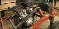 Instalasi mesin CBR600RR di Bajaj