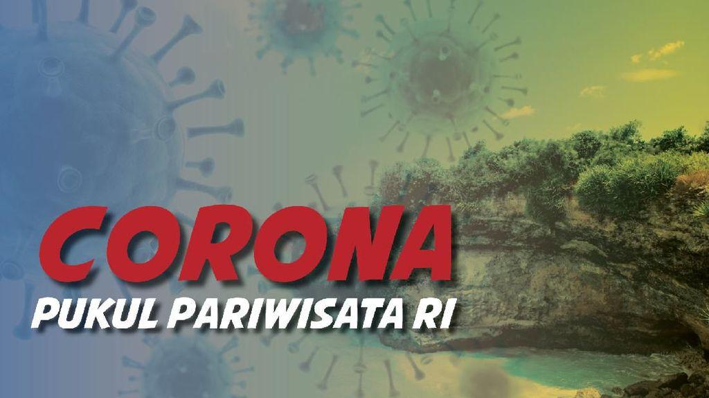 Efek Virus Corona ke Wisata RI