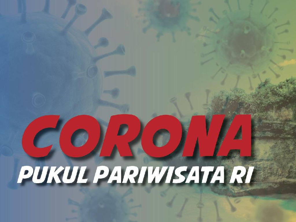 Corona Pukul Pariwisata RI