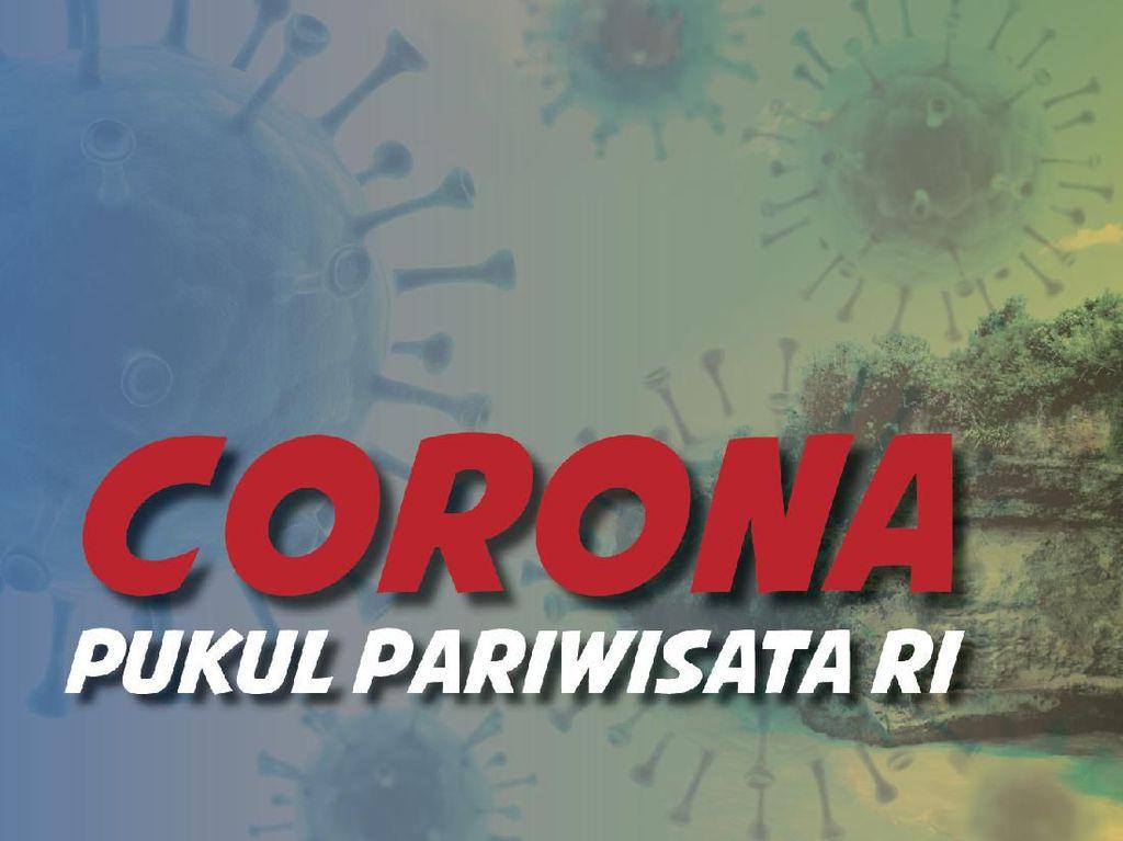 Corona Pukul Pariwisata RI