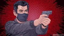 Polisi di Medan Ditembak Usai Senjatanya Direbut Pelaku