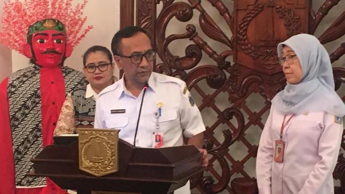 Kepala Tim siaga COVID-19 DKI Jakarta, Catur Laswanto. (Foto: Arief/detikcom)