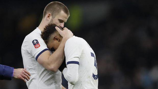 Tim Krul membuat Tottenham Hotspur tersingkir dari Piala FA.