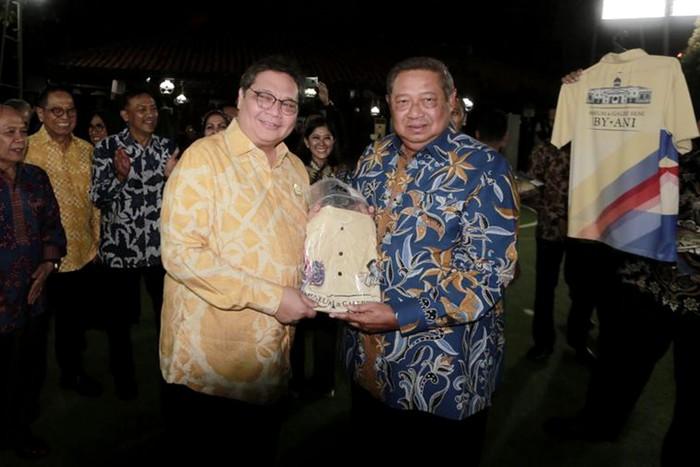 Pertemuan silaturahmi Antara dua Ketua Umum tersebut membahas beberapa hal, diantaranya penjelasan proses Omnibus Law, Dan juga soal Pilkada 2020.