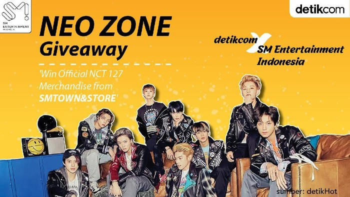 Giveaway NCT 127 detikHOT x SM Entertainment Indonesia