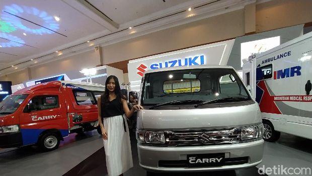Suzuki Carry meluncur di ajang GIICOMVEC 2020