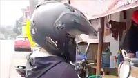 Lucu Abis! Masker Plastik ala Bikers Ini Diklaim Anti Corona