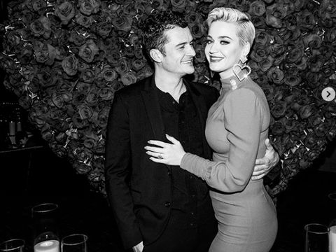 Katy Perry dan Orlando Bloom.