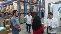 KPPU Sidak Pasar-Distributor di Medan Gegara Masker Langka Imbas Corona