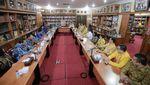 Momen Silaturahmi Golkar dan Demokrat di Cikeas