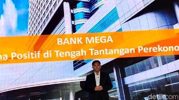 Direktur Utama Bank Mega Kostaman Thayib